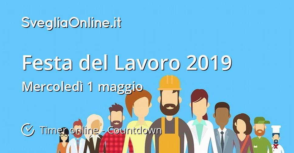 Festa del Lavoro 2019