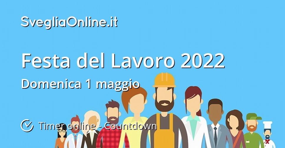 Festa del Lavoro 2022