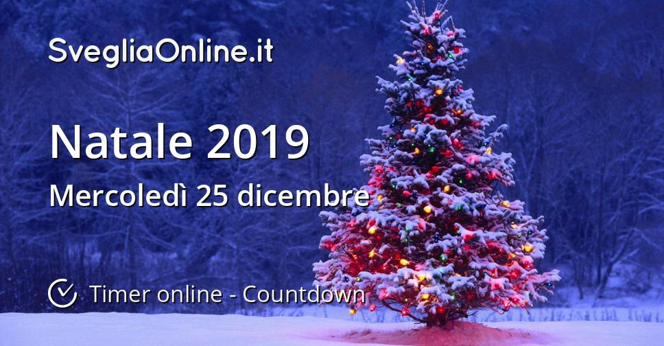 Natale 2019.Natale 2019 Timer Online Countdown