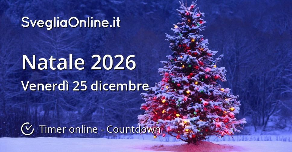 Natale 2026