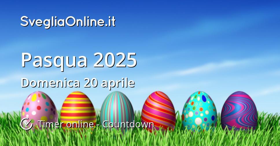 Pasqua 2025